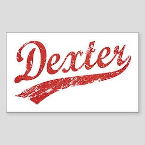 Team Dexter Rectangle Sticker