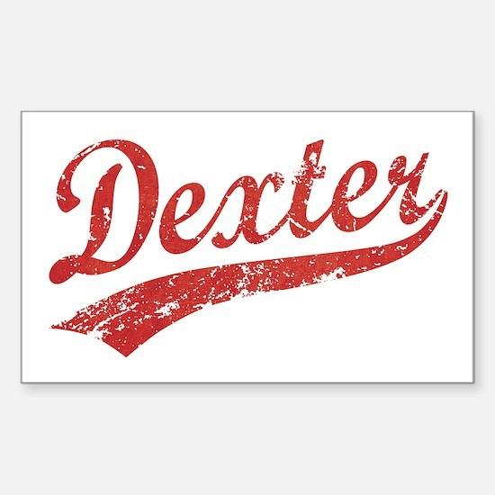 Team Dexter Rectangle Decal