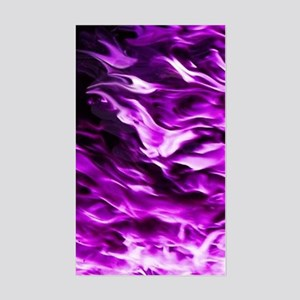 Purple Flame Vertical E-Cig Skin