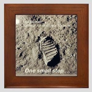 Apollo 11 Bootprint Framed Tile