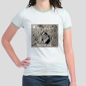 Apollo 11 Bootprint Jr. Ringer T-Shirt