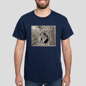 Apollo 11 Bootprint Dark T-Shirt
