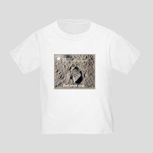 Apollo 11 Bootprint Toddler T-Shirt