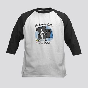 Kawaii BC Flyball Kids Baseball Jersey