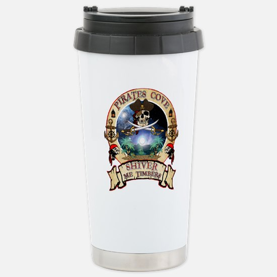 Pirates Cove Stainless Steel Travel Mug