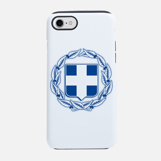 greek-crest-blue.png iPhone 7 Tough Case