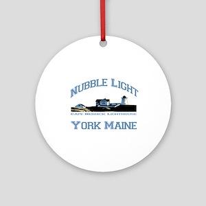 York, Maine Ornament (Round)