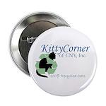 "Kitty Corner 2.25"" Button (100 pack)"