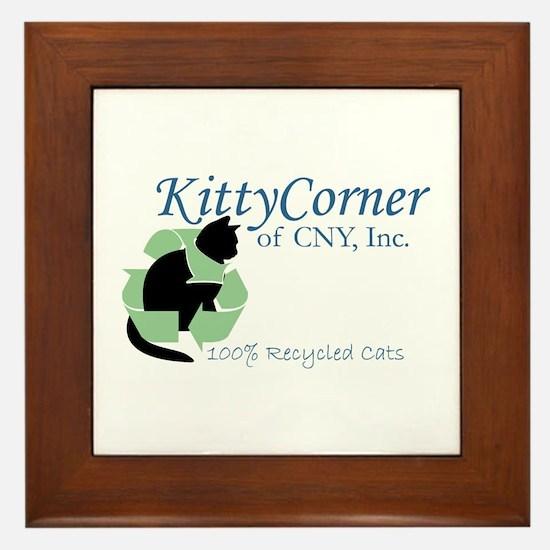 Kitty Corner Framed Tile