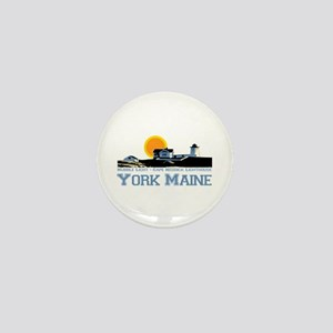York, Maine Mini Button