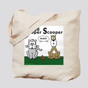Proud Pooper Scooper-2 Tote Bag