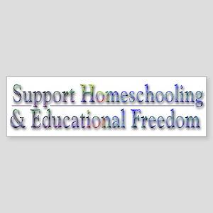 Support Homeschooling ~ Sticker