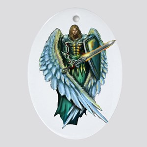 Archangel Michael Oval Ornament
