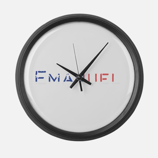 Emanuel Large Wall Clock