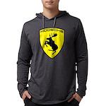 Moosche M1 (10 Inch) Hooded Long Sleeve T-Shirt