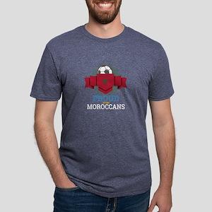 Football Moroccans Morocco Soccer Team Spo T-Shirt