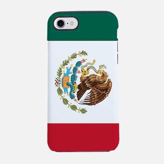 mexico-flag_y.png iPhone 7 Tough Case