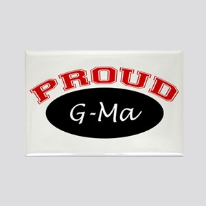 Proud G-Ma Rectangle Magnet