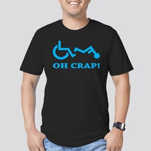Oh Crap Men's Fitted T-Shirt (dark)