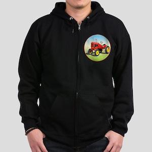 The Heartland Classic Pony Zip Hoodie (dark)