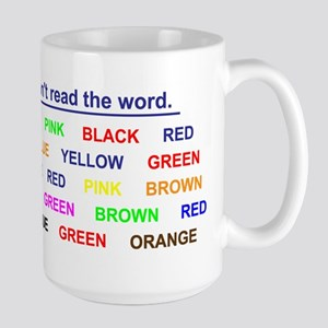 Large Stroop Effect Mug