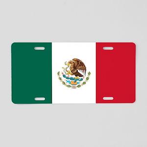 mexico-flag_sb Aluminum License Plate