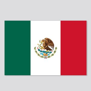 mexico-flag_sb Postcards (Package of 8)