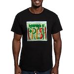 Keeping It Fresh Men's Fitted T-Shirt (dark)