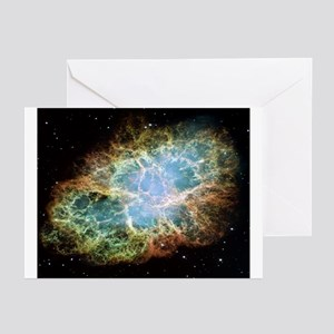 Crab Nebula Greeting Cards (Pk of 10)