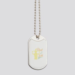Dad and SOn Dog Tags