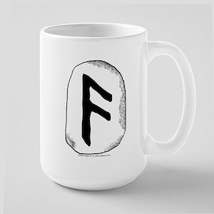 Viking Rune Ansuz Large Mug