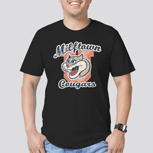 Milftown Cougars Men's Fitted T-Shirt (dark)
