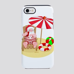 beach santa claus iPhone 7 Tough Case