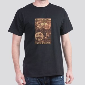 New Zealand Pictorials Dark T-Shirt
