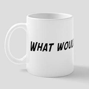 What would Mary do? Mug