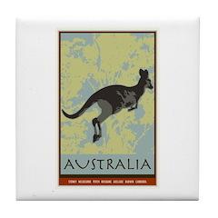Australia II Tile Coaster