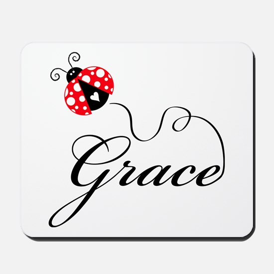 Ladybug Grace Mousepad