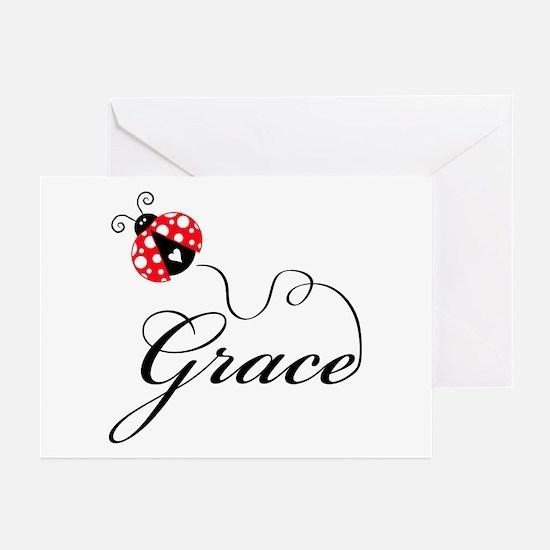 Ladybug Grace Greeting Cards (Pk of 20)