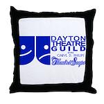 Dayton Theatre Guild Throw Pillow