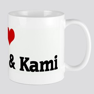 I Love Norman & Kami Mug