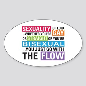 Shane L Word Quote Oval Sticker