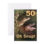 50, Oh Snap Greeting Cards (Pk of 10)