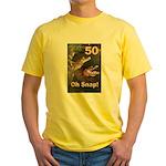 50, Oh Snap Yellow T-Shirt