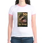 50, Oh Snap Jr. Ringer T-Shirt