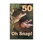 50, Oh Snap Mini Poster Print