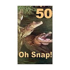 50, Oh Snap Rectangle Sticker 10 pk)