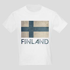 Vintage Finland Kids Light T-Shirt