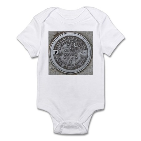 Water Meter Lid Infant Creeper
