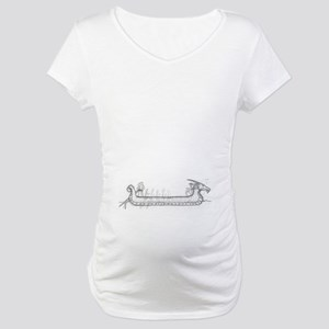 Long Boat Maternity T-Shirt