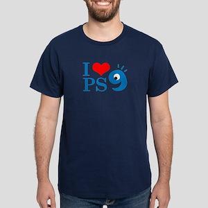 I Love PS9 Dark T-Shirt
